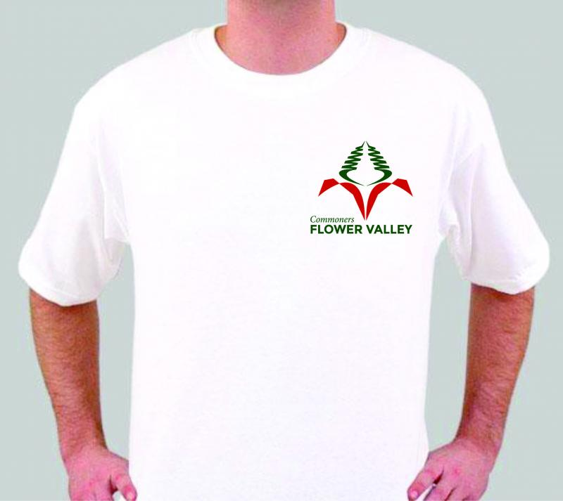 Commoners Flower Valley T-Shirt